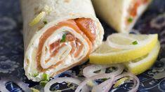 Recette Wrap au saumon - Auchan et Moi