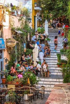 Restuarant's in Athens Greece