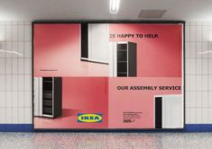 #IKEA Uses Poorly Assembled Billboards to Admit Its Furniture Is Hard to Put Together vía @Adweek
