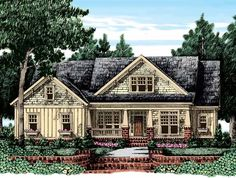 Eplans Craftsman House Plan - Uncluttered Layout - 2644 Square Feet and 4 Bedrooms from Eplans - House Plan Code HWEPL11301