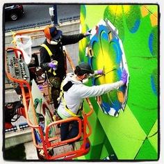 NAEA: Street Art vs. Graffitti Art