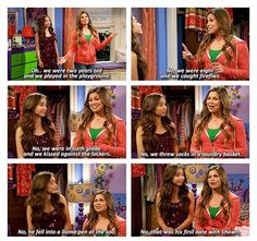 "#GirlMeetsWorld 1x20 ""Girl Meets First Date"" - Riley and Topanga"