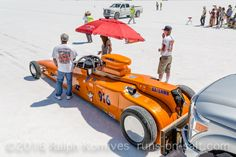 Komives160814_MG_4735rck, #916, ©2016 Ralph Komives, 1927 Ford Roadster, AA/GRMR, Bonneville, Brian and Celia Dean, Gas Rear Engine Modified Roadster, Land Speed Racing, LSR, photo by Ralph Komives, Salt Flats, SCTA, Southern California Timing Association, Speed Week  2016, Thomas Dean's Thundersalt II, Wendover Utah