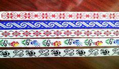 Bead Loom Patterns, Bracelet Patterns, Beading Patterns, Stitch Patterns, Beaded Braclets, Bead Loom Bracelets, Loom Beading, Bead Weaving, Beaded Embroidery