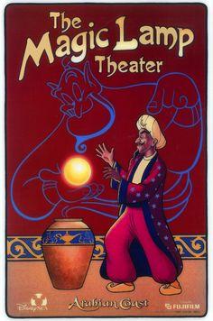 #attraction_poster #TOKYO_DISNEYLAND #Tokyo_Disney_Sea #ARABIAN_COAST #The_Magic_Lamp_Theater #東京ディズニーシー #マジックランプシアター