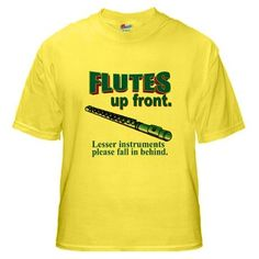 e5811032 7 Best Flute Section Shirts images | Band Nerd, Flute shirts ...