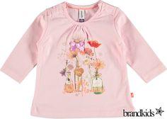 Babyface Longsleeve lichtroze - Meisjes Baby T-shirts lange mouw €17,95