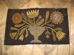 wool applique | Wool Applique / love this
