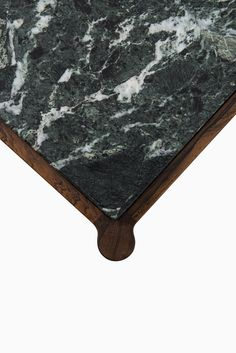 Ib Kofod-Larsen coffee table in rosewood & marble at Studio Schalling
