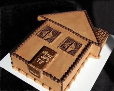 House cake for housewarming party