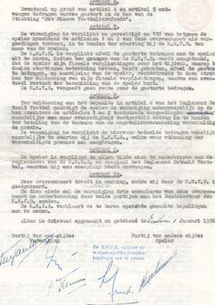EVV spelerscontract (A)