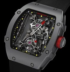 5bc7ab3fa88 Richard Mille Tourbillon RM 27-01 Rafael Nadal Watch Relojes De Moda