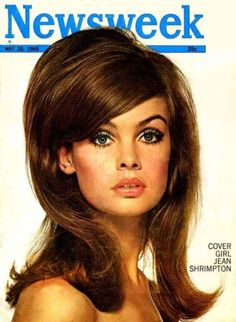 The 60's hair trends looked extremely elegant, sophisticated, smart and well-groomed, which was a stark opposite of the hippie era