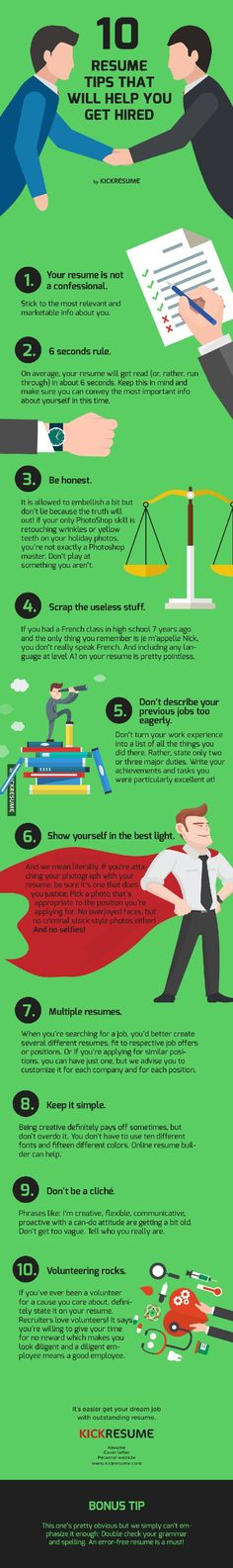 The Do'S And Don'Ts Of The Modern Resumé (Infographic) | Modern