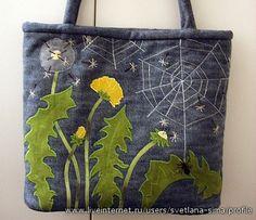 Dandelions & spider web. My best !