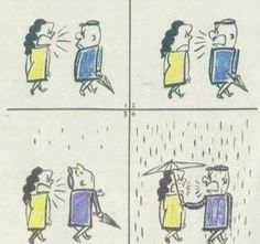 He may disagree with you sometimes. But that doesn't mean he doesn't care for you :)    From your everyday conversation to romantic gestures, do it on Between: http://j.mp/UI6HkW