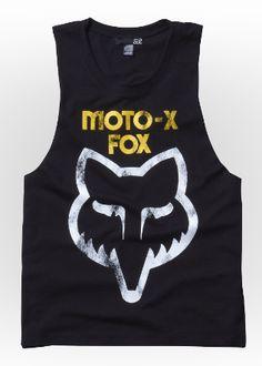 Girls Tanks - Moto-X Cut Off Tank