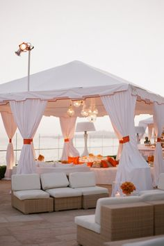 great wedding lounge space