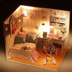 кукольная миниатюра, миниатюрная комната, румбокс, комната и домик для миниатюрных кукол 1:12, румбокс недорого и своими руками, miniature