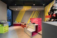 adidas RunBase Store by DINN!, Milan – Italy » Retail Design Blog