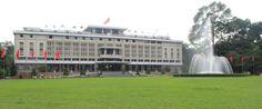 Reunification Palace at Ho Chi Minh city