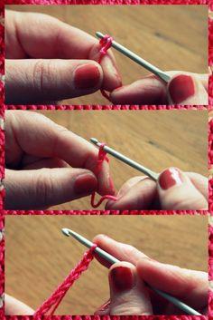 How to crochet - Leren haken: lossen, vasten en stokjes - Haak een vaatdoekje