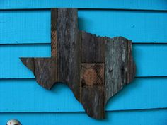 Your Favorite State Made Of Old Fence Wood