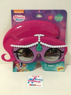 Shimmer and Shine sunshades for birthday girl 1