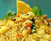 Thai Pineapple Chicken Fried Rice
