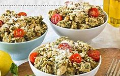 Recipe: Creamy Chicken Salad with Parsley Walnut Pesto & Sun-Dried Tomatoes