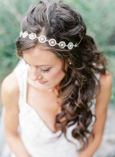 Outdoor Boho Austin Wedding captured by Lauren Peele Best Wedding Hairstyles, Elegant Hairstyles, Amanda, Elegant Wedding Hair, Wedding Dress, Wedding Shoes, Wedding Flowers, Wedding Headdress, Floral Hair