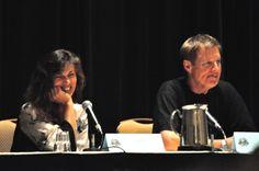 Mira Furlan and Bruce Boxleitner