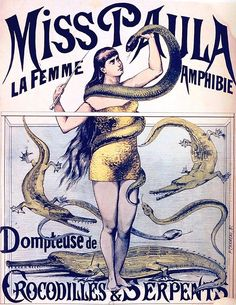 Miss Paula, La Femme Amphibie