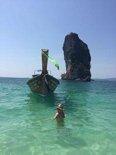 Krabi Island Tour - Hong, Rai, Koh Phak Bia, Lading #thailand