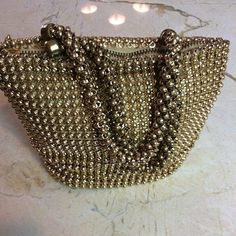 Gorgeous small vintage beaded bag