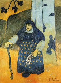 Paul Sérusier Veille bretonne  sous un arbre (1892)