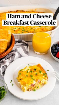 Ham And Cheese, Breakfast Casserole, Holiday Recipes, Mashed Potatoes, Easy Meals, Ethnic Recipes, Food, Sausage Hashbrown Breakfast Casserole, Whipped Potatoes