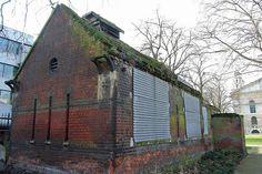 Mortuary where Ripper victim Elizabeth Stride's body was taken to in 1888.