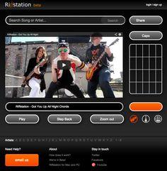 Riffstation – i grandi accordi musicali e l'intelligenza artificiale