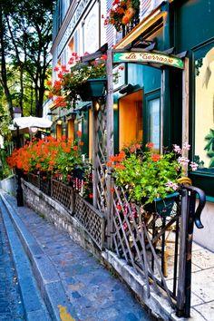 Paris - Street in Montmartre