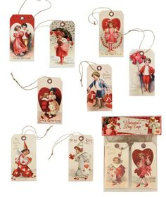 Valentine's Day Tags from The Holiday Barn