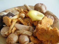 Paddenstoelensoep met truffelolie - #Glutenfree #Glutenvrij