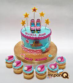 Torta y cupcakes Soy Luna