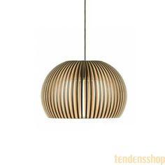 Atto 5000 pendel (Sort) - Secto Design