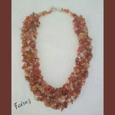 Collar de agata disponible en instagram @fairuz_collares  Agate stone collar available in instagram @fairuz_collares Whatsapp📱📲  +57 3152622382 COL +1 8327154775 USA