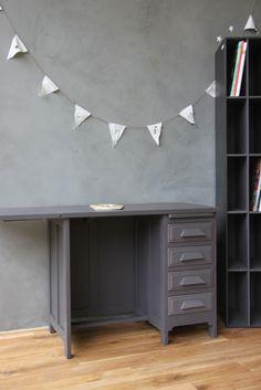 bureau de comptable et meuble de tri www.petitebelette.com
