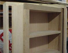 Hidden Pivot Bookcase Installation | THISisCarpentry