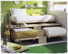 3 Twin Beds In The Space Of 1 | DIY & Craft Ideas