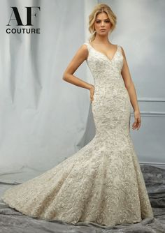 AF Couture by Mori Lee Fall 2014 Bridal Collection | bellethemagazine.com