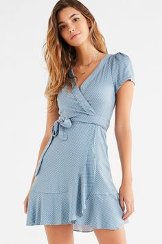 Shop Kimchi Blue Rita Wrap Dress at Urban Outfitters today. We carry all the latest styles, colors and brands for you to choose from right here.